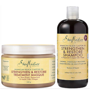 Shea Moisture Jamaican Black Castor Oil Duo (Worth £25.98)