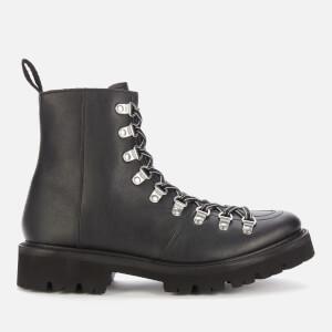 Grenson Women's Nanette Vegan Hiking Style Boots - Black