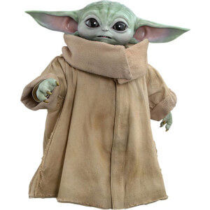 Figura El Niño (Baby Yoda) Star Wars The Mandalorian (tamaño real: 36 cm) - Hot Toys