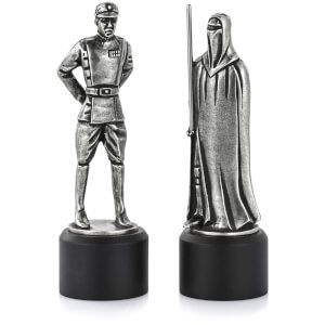 Royal Selangor Star Wars Pewter Chesspiece - Imperial Officer and Red Guard (Bishop/Knight)