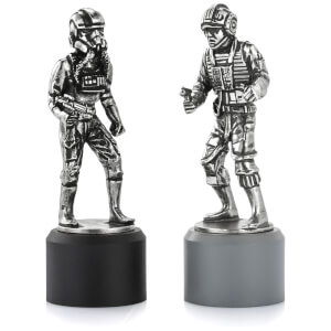 Royal Selagnor Star Wars Chesspiece Rebel Pilot and Imperial Pilot (Rook)