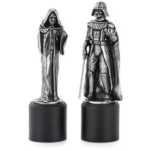 Piezas de ajedrez Darth Vader & Sidious Star Wars (Rey/Reina) - Royal Selangor
