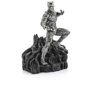 Royal Selangor Marvel Black Panther Pewter Figurine - Limited Edition