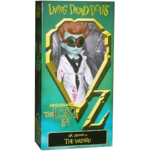 Mezco Living Dead Dolls - The Lost in OZ Exclusive Emerald City Variant - Dr Dedwin