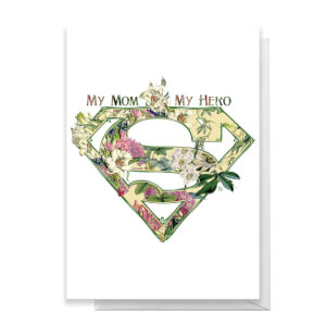 Superman Mother's Day Greetings Card