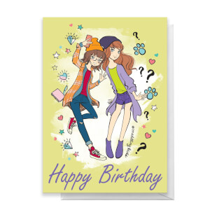 Scooby Doo 10th Birthday Girls Greetings Card