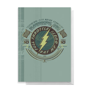 The Flash Father's Day Greetings Card