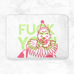 Fuck You Clown Bath Mat