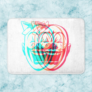 Psychedelic Clown Bath Mat