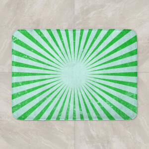 Circus Beams Green Bath Mat