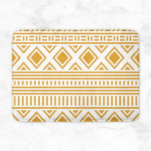 Aztec Pattern Bath Mat