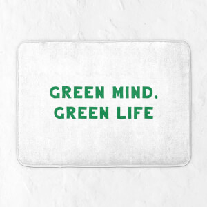 Green Mind, Green Life Bath Mat