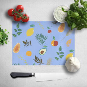 Leaves And Fruit Chopping Board