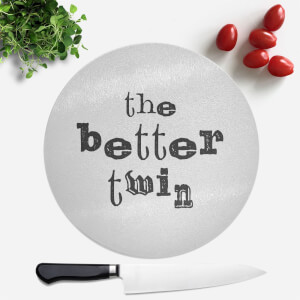 The Better Twin Round Chopping Board