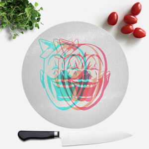 Psychedelic Clown Round Chopping Board