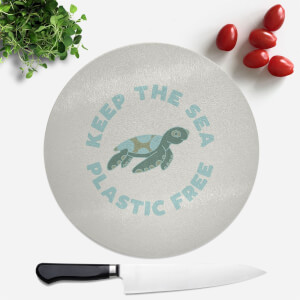 Keep The Sea Plastic Free Round Chopping Board
