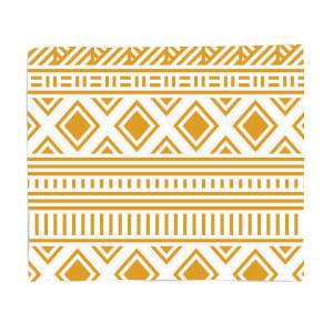 Aztec Pattern Fleece Blanket