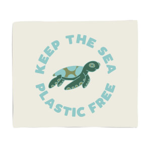 Keep The Sea Plastic Free Fleece Blanket