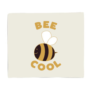 Bee Cool Fleece Blanket