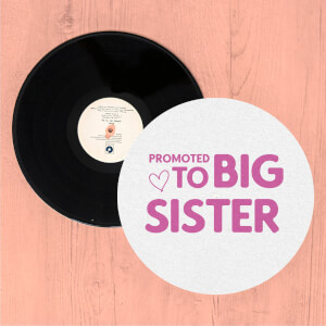 Promoted To Big Sister Slip Mat