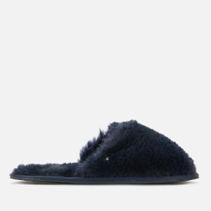 Ted Baker Women's Phlufy Mule Slippers - Navy