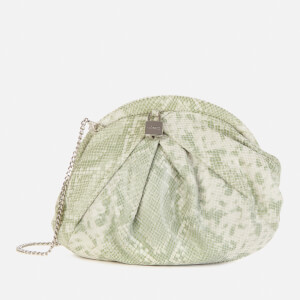 Núnoo Women's Saki Clutch Bag - Light Green
