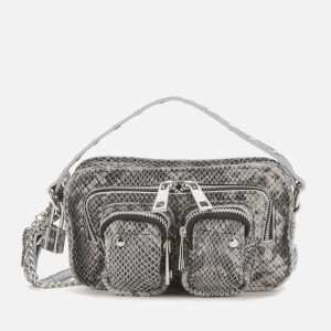 Núnoo Women's Helena Snake Cross Body Bag - Grey