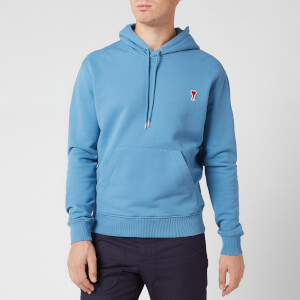 AMI Men's De Coeur Hoody - Blue