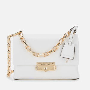 MICHAEL MICHAEL KORS Women's Cece XS Chain Cross Body Bag - Optic White