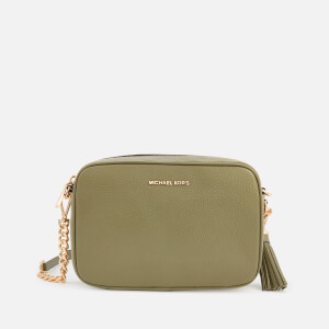 MICHAEL MICHAEL KORS Women's Jet Set Medium Camera Bag - Army Green