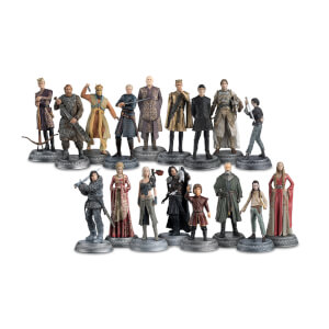 Lot de 17 figurines Game of Thrones (Lot 2) - Eaglemoss