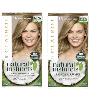 Clairol Natural Instincts Semi-Permanent No Ammonia Vegan Hair Dye Duo (Various Shades)
