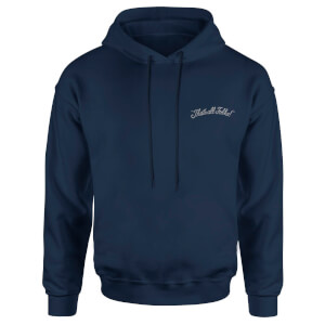 Sweat à capuche Looney Tunes That's All Folks - Brodé - Bleu Marine - Unisexe