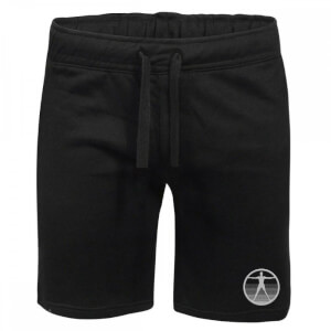 Westworld Logo Embroidered Unisex Jogger Shorts - Black