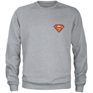 Sweat-shirt DC Superman - Gris - Unisexe