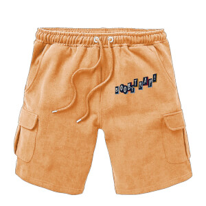 Shorts Cargo Birds of Prey Boobytrap - Brodé - Marron - Unisexe