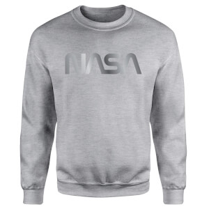 NASA Logo Unisex Sweatshirt - Grey