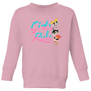 The Powerpuff Girls Girls Rule Kids' Sweatshirt - Baby Pink