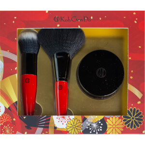 Koh Gen Do Perfect Finish Buffing & Fan Brush, Face Powder (Worth $145.00)