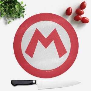 Mario Round Chopping Board