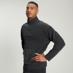 MP Men's Raw Training 1/4 Zip - Washed Black
