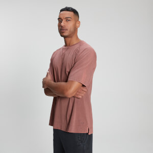 MP Men's Raw Training T-skjorte – Vasket rosa