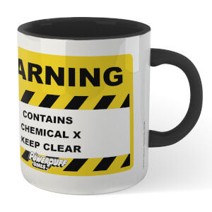 The Powerpuff Girls Chemical Mug - White/Black