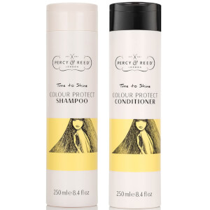 Percy & Reed Time to Shine Colour Protect Shampoo and Conditioner