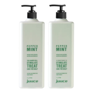 Juuce Peppermint Scalp Stimulating Shampoo and Conditioner Duo 2 x 1L