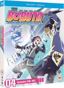 Boruto: Naruto Next Generations Set 4 (Episodes 40-51)