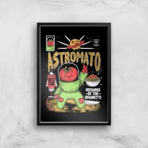 Ilustrata Astromato Giclee Art Print