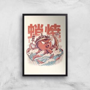 Ilustrata Takyaky Attack Giclee Art Print