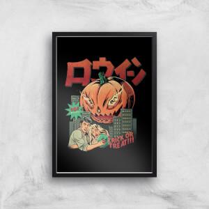 Ilustrata Pumpkiller Kaiju Giclee Art Print