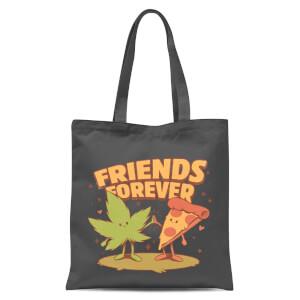 Ilustrata Friends Forever Tote Bag - Grey